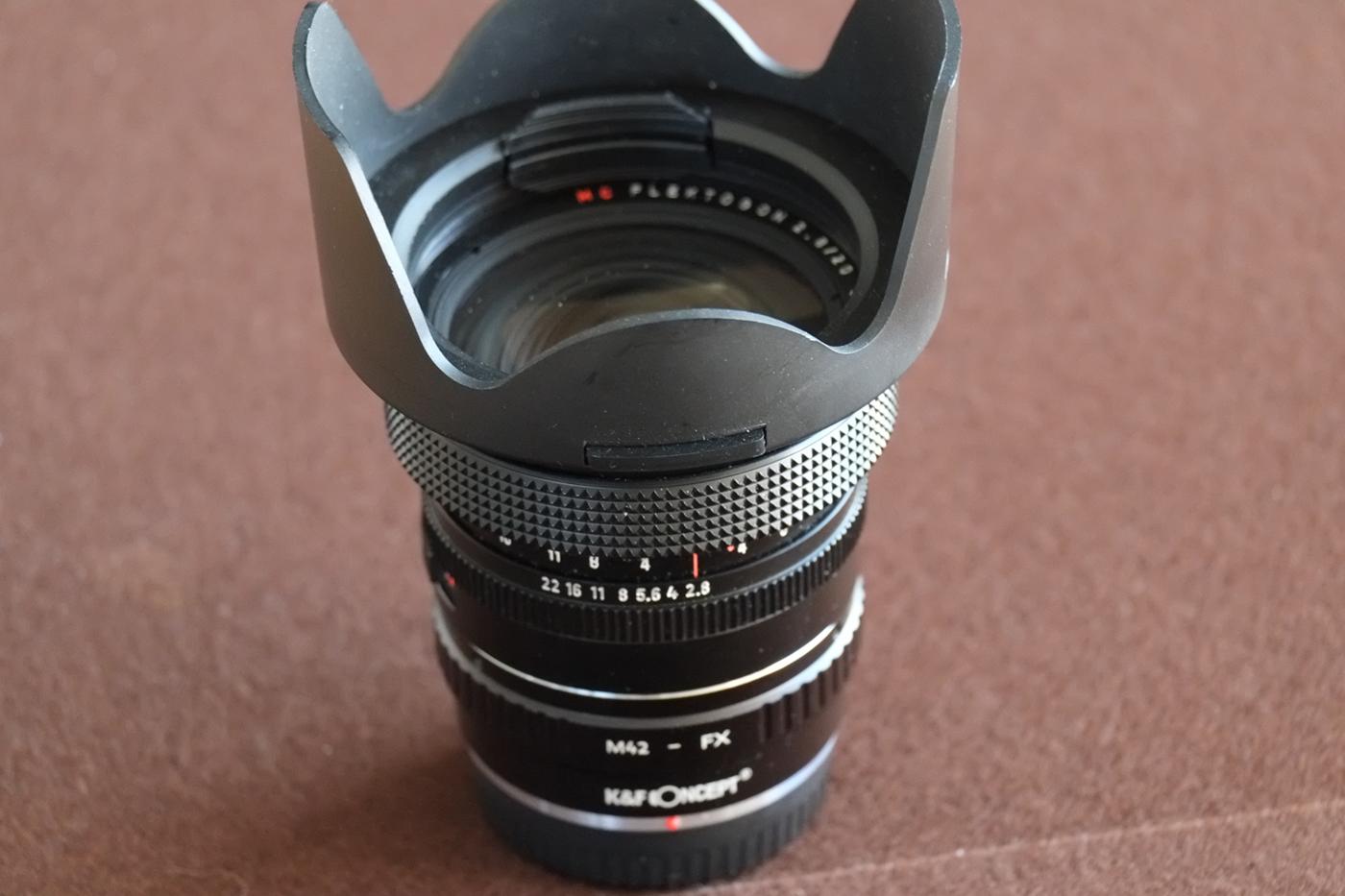 Zeiss-Flektogon-Objektiv 2,8 20mm