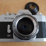 Canon EX Frontlinse ausgeschraubt