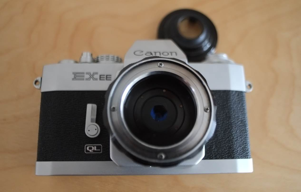 02 Canon EX EE ohne Frontlinse