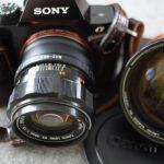 Canon EX adaptiert an Sony A7